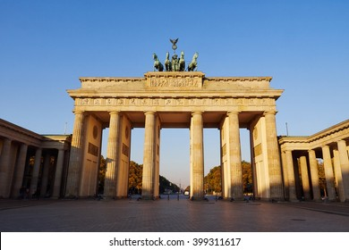 Brandenburg Gate, Berlin.