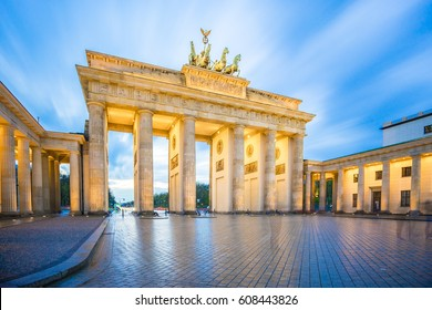 Brandenburg Gate in Berlin city, Germany.