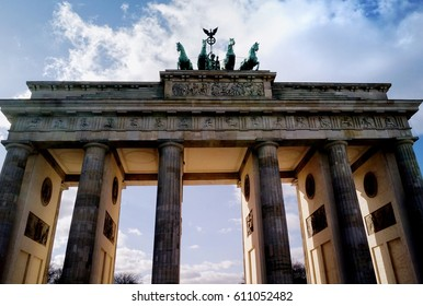 Brandenburg Gate in Berlin Europe
