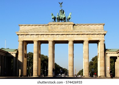 Brandenburg Gate ( Berlin, Germany )