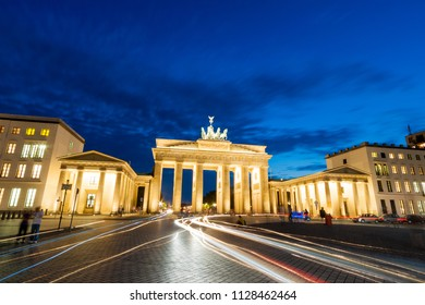 The Brandenburg Gate is a neoclassical triumphal arch and a well-known landmarks of Germany.