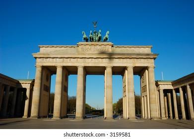 Brandenburger Gate in Berlin Germany
