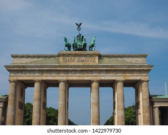 Brandenburger Tor (Brandenburg Gate) in Berlin, Germany