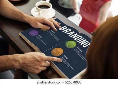 Branding Marketing Strategy Ideas Concept