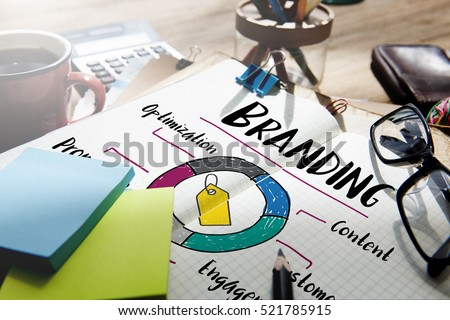 Branding Promotion Commercial Marketing Advertising Concept