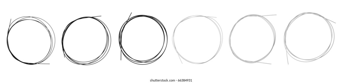 Brand-new set of black nylon and metal-wound strings for classical guitar, isolated on white background