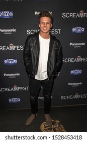 """Brandon Laabs attends 19th Annual Horror Film Festival – ScreamFest - Opening Night """"Eat, Brains, Love"""" Los Angeles Premiere at TLC Chinese Theatre, Hollywood, CA on October 8, 2019"""