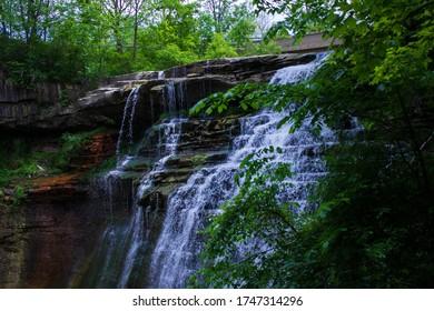 Brandywine Falls in Sagamore Hills, Ohio