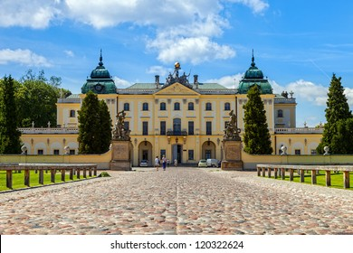 Branicki Palace is a historical edifice in Bialystok, Poland.