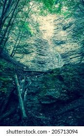 Brankovsky vodopad - waterfall at Slovakia