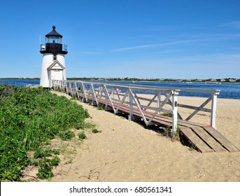 Brant Point Light is a lighthouse located on Nantucket Island / Brant Point Light