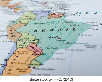 Brazils Map Stock Photos, Images & Photography | Shutterstock