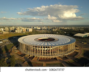 BRASILIA, BRAZIL - MAY 02, 2018: Mane Garrincha National Stadium located in Brasília, Brazil.