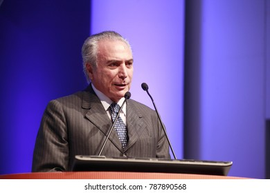 Brasilia, DF, Brazil - may 07, 2013 - Michel Temer is a lawyer and politician who is the 37th and current President of Brazil