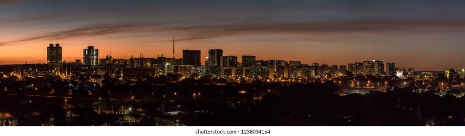 Brasilia Skyline View