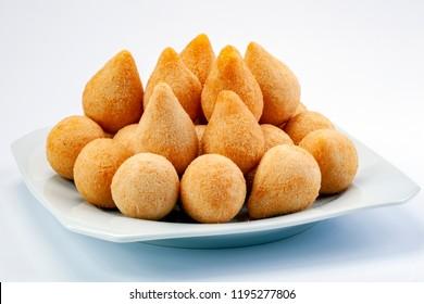 Brasilian snack coxinha