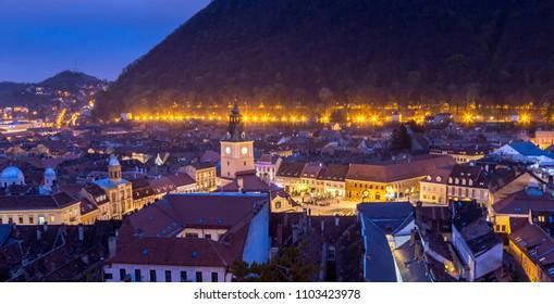Brasov  wonderful city in transilvania  , Romania