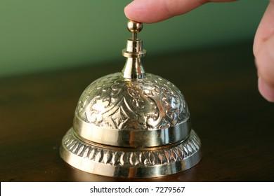 Brass Hotel Bell