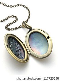 Brass locket