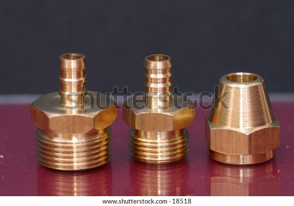 Brass Nuts & Fittings