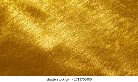 Brass plate with scratched surface background