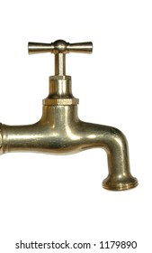brass watertap