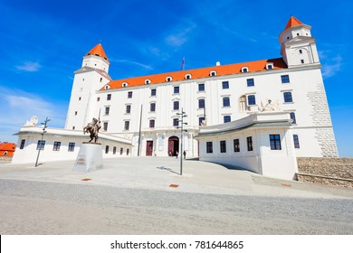 Bratislava Castle or Bratislavsky Hrad is the main castle of Bratislava, capital of Slovakia. Bratislava Castle is located on rocky  hill above the Danube river.