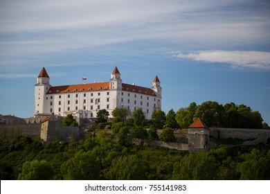 Bratislava castle Hungary