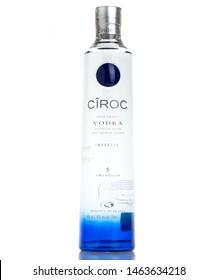 BRATISLAVA, SLOVAKIA - february 27, 2017, bottle of  CIROC vodka