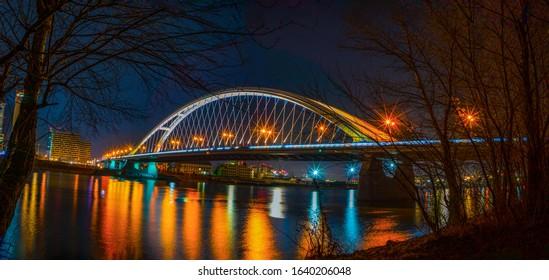 Bratislava, Slovakia, January 2020, spring, winter - Shutterstock ID 1640206048