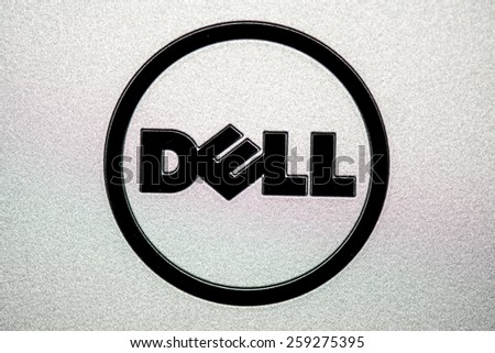 Bratislava Slovakia March 10 Dell Logo Stock Photo Edit Now