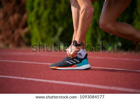 BRATISLAVA SLOVAKIA MAY 15 2018 Adidas Stock Photo (Edit Now ... a77b95140a0