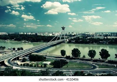 Bratislava in style 70's