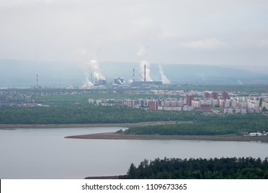 Bratsk city, Siberia, Russia.