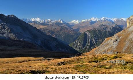 Braulio Valley from Stelvio pass to Bormio