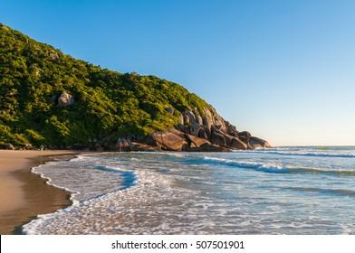 Brava beach in Florianopolis, Brazil.