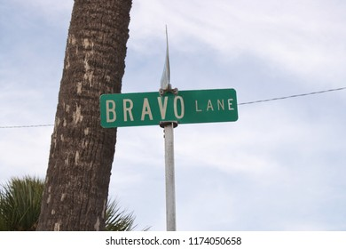 Bravo Lane, St. Augustine. Florida, USA.