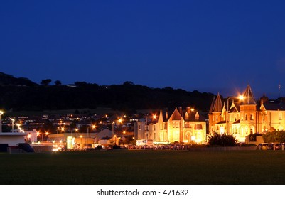 Bray in Wocklow, Ireland, by night