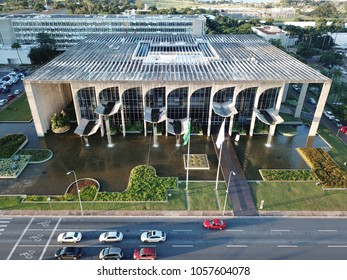 BRAZIL, BRASILIA March 26, 2018, Justice Palace, Aerial View