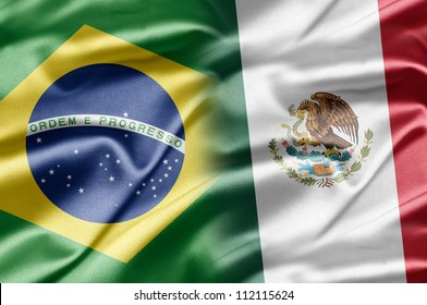 Brazil and Mexico