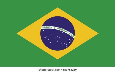 Brazil national flag background