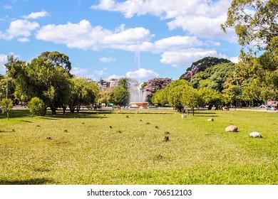 Brazil Porto Alegre Park Farroupilha