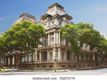 Brazil. Rio de Janeiro. National Museum of fine arts.  The Museum is housed in a neoclassical building in downtown Rio de Janeiro.