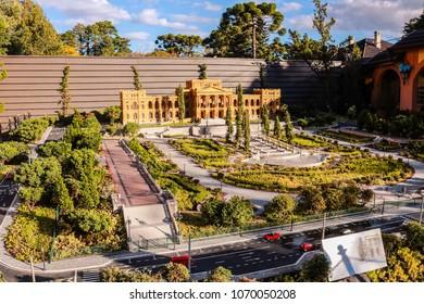 Brazil, Rio Grande do Sul, Gramado Canela, Mini Mundo World Miniature