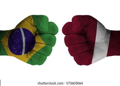 BRAZIL vs LATVIA