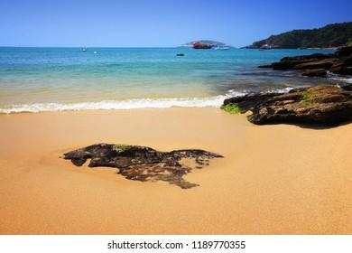 Brazilian beach - Joao Fernando beach in Buzios (state of Rio de Janeiro).