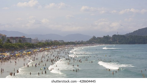 brazilian beach - PRAIA GRANDE - UBATUBA - BRAZIL