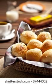 Brazilian cheese Bun, pao de queijo.