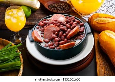 Brazilian Feijoada Food
