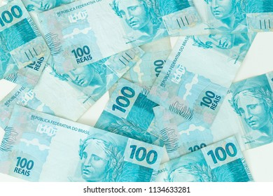 Brazilian money, reais, high denominations